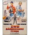 Zwei bärenstarke Typen (Terence Hill, Bud Spencer) Filmplakat A1