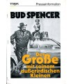 The Sheriff and the Satellite Kid (Bud Spencer) Presseheft + 3 Pressefotos